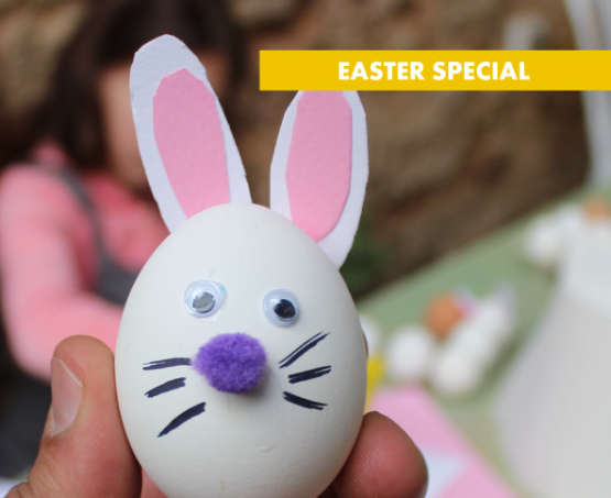 Easter eggs and cookies decoration for Kids