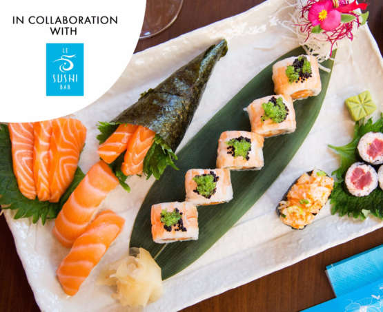 Let's roll sushi in collaboration with Le Sushi Bar