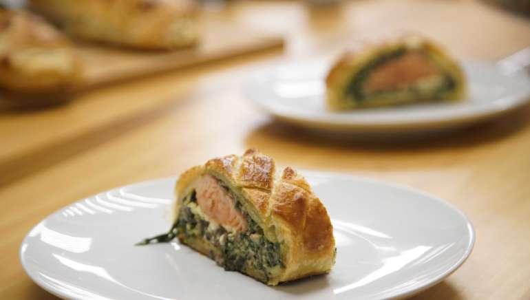 Koulibiac – Saumon en croûte
