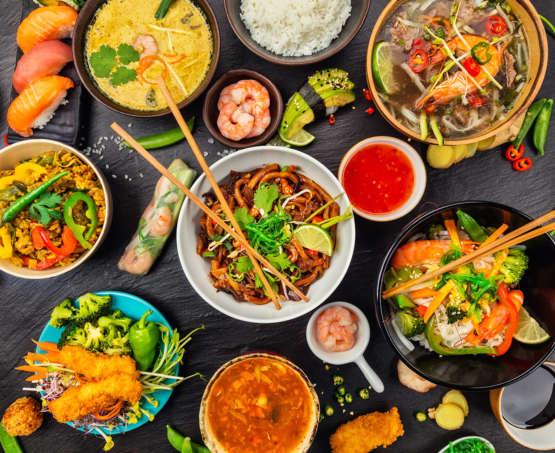 Asian summer salads