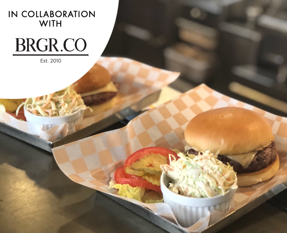 Burger from Scratch in Collaboration with Brgr.Co