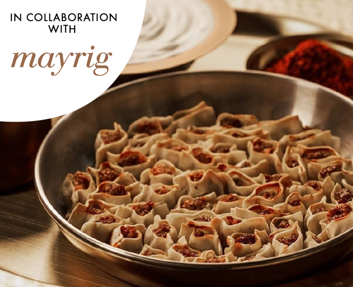 Traditional Armenian Cuisine in Collaboration with Mayrig