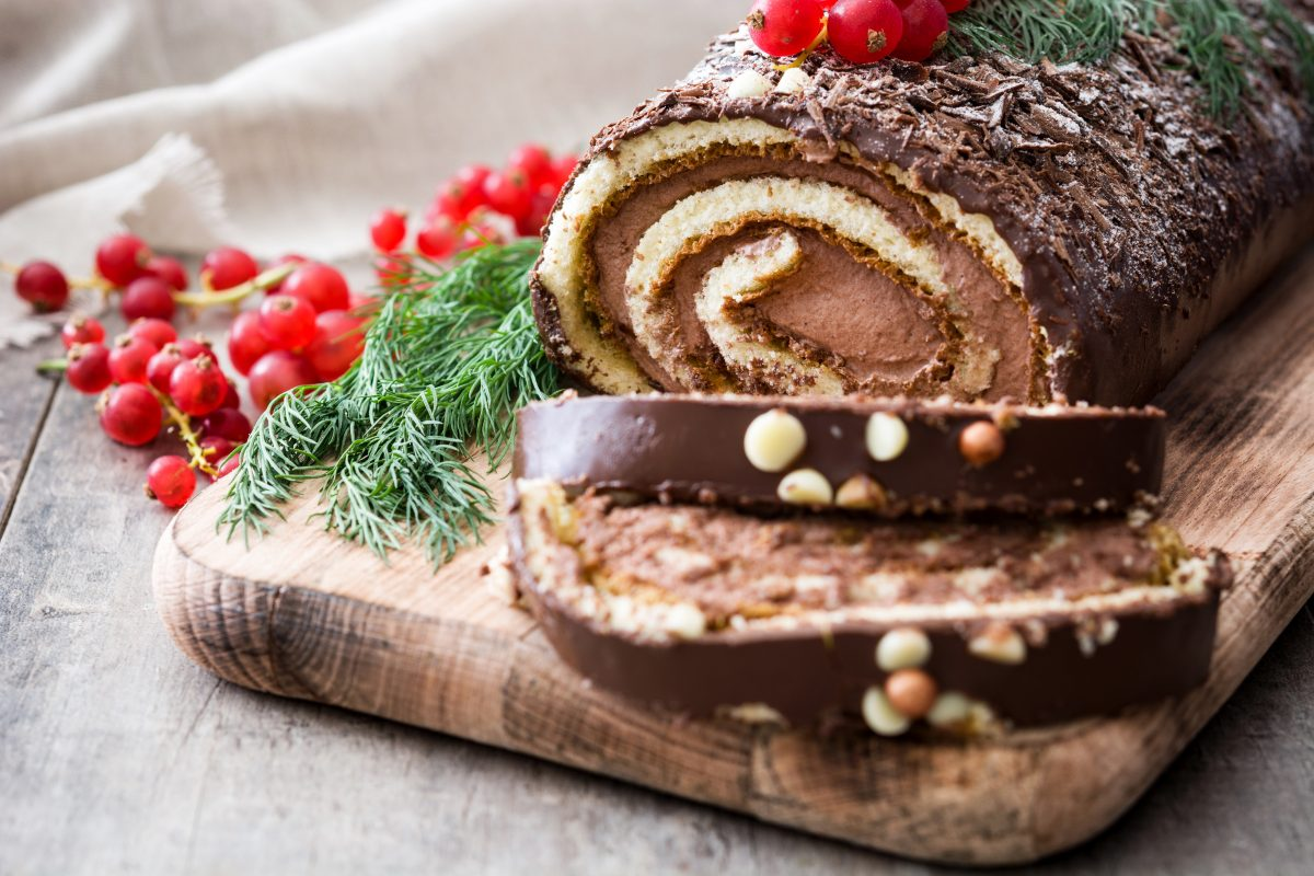 Make your own Christmas log & Chocolate Truffles