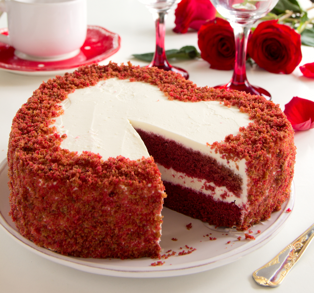 Valentine's Day Special: Heart-shaped Red Velvet Cake