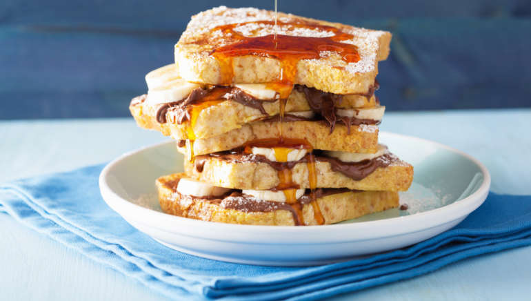 The classic French toast
