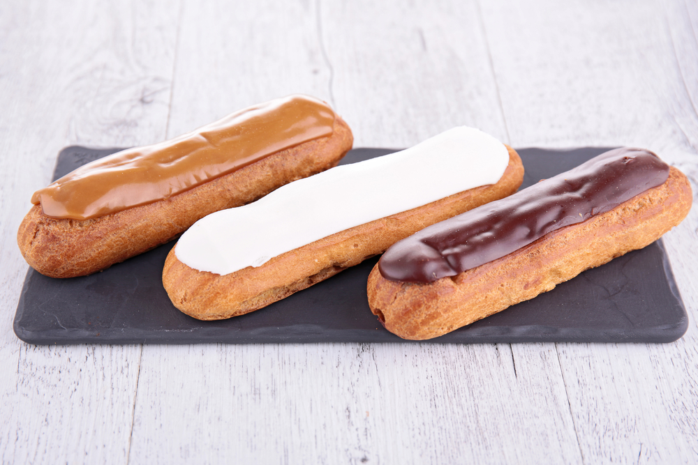 French pastry staple: The eclair!