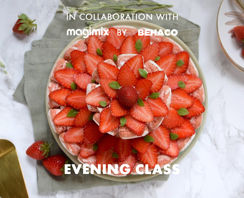 Pastry class: It's a cool summer! In collaboration with Magimix by Behaco