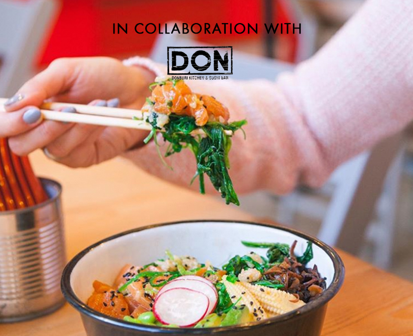 Hawaii in a bowl in collaboration with Don Eatery