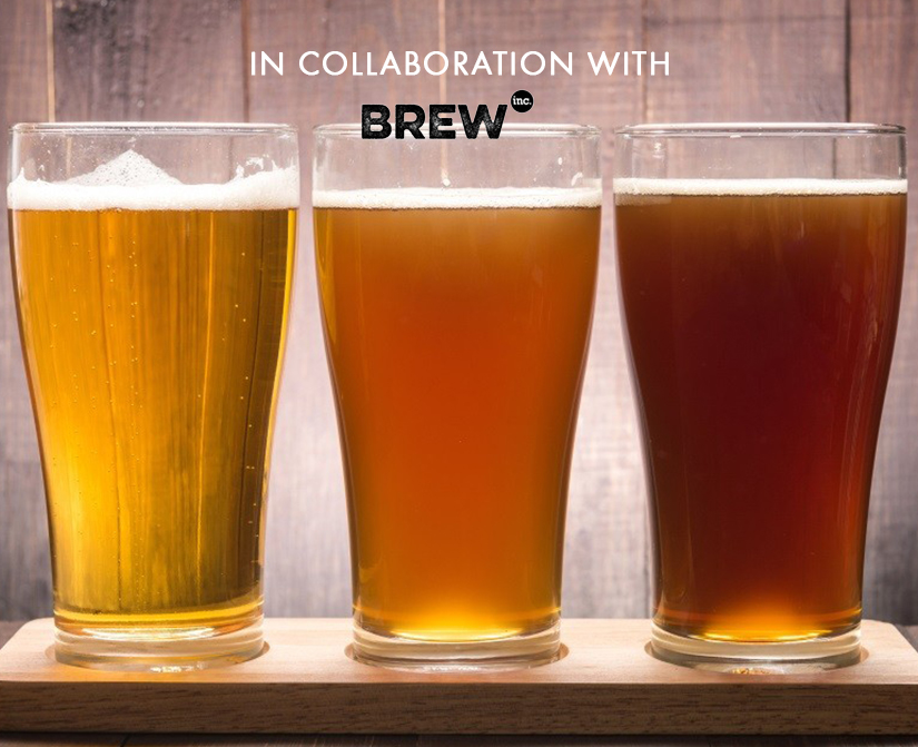 Brew your own Beer in collaboration with Brew inc.