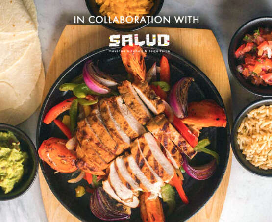 ¡Hola Mexico! In collaboration with Salud Mexican Kitchen and Tequileria