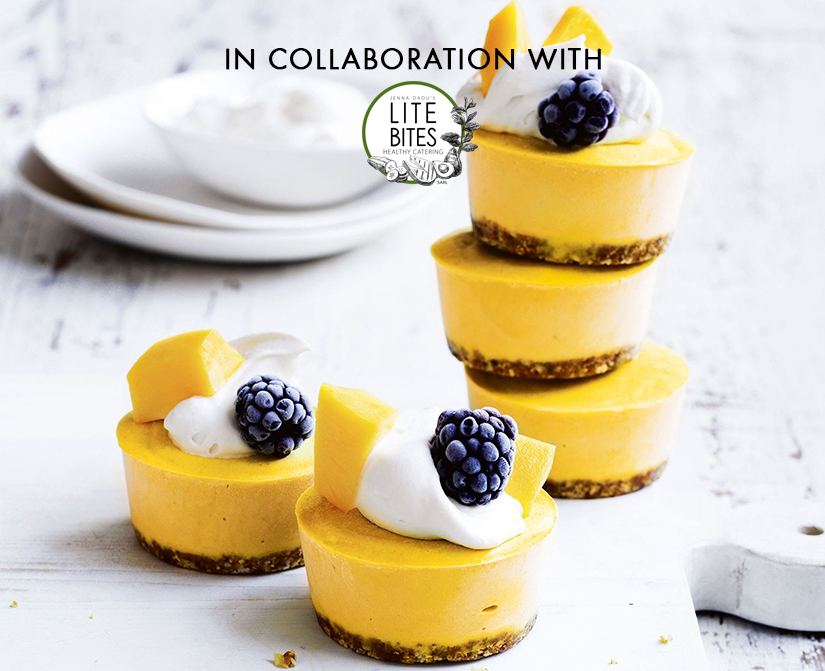 Guilt-free desserts in collaboration with Lite Bites