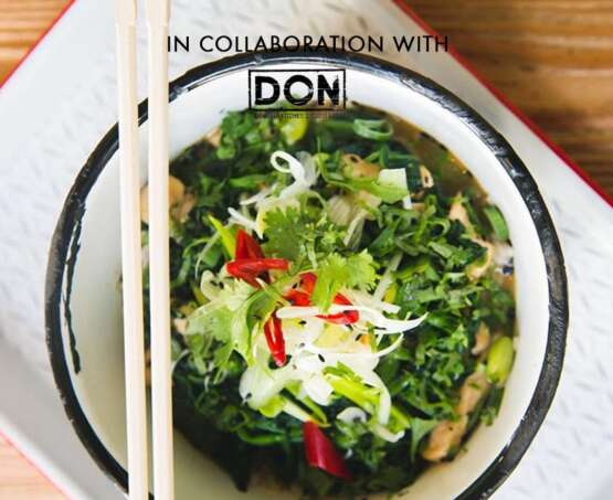 Japan with your friends in collaboration with DON Eatery