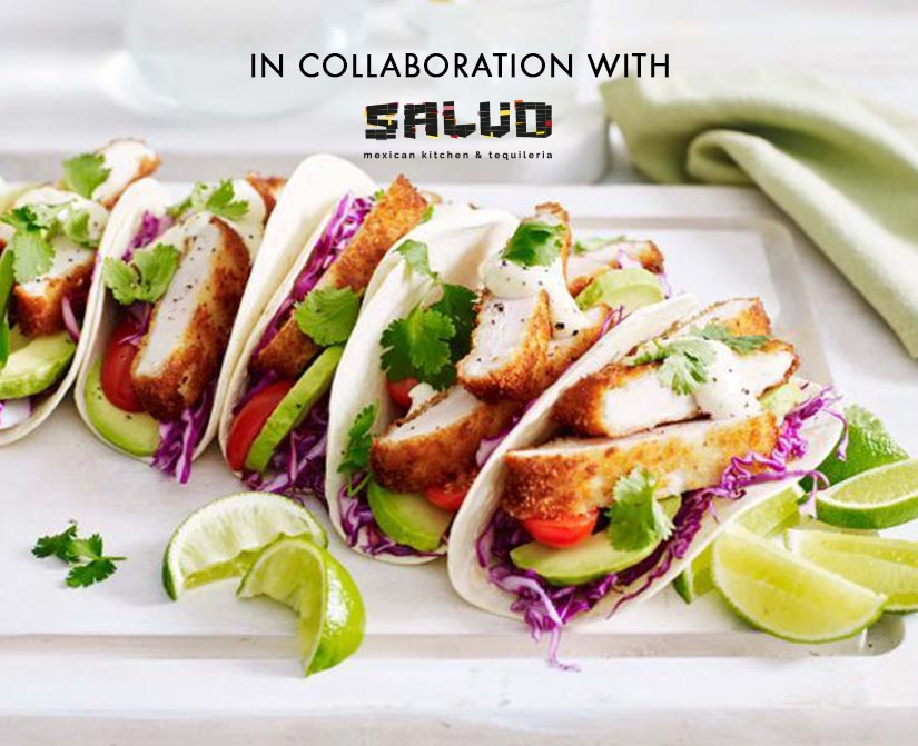 Girls' night out in Cancun! In collaboration with SALUD, Mexican Kitchen and Tequileria