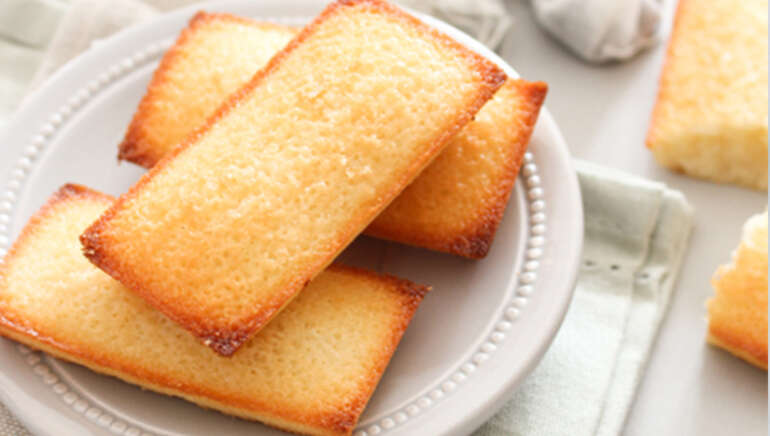 French Financier Cake