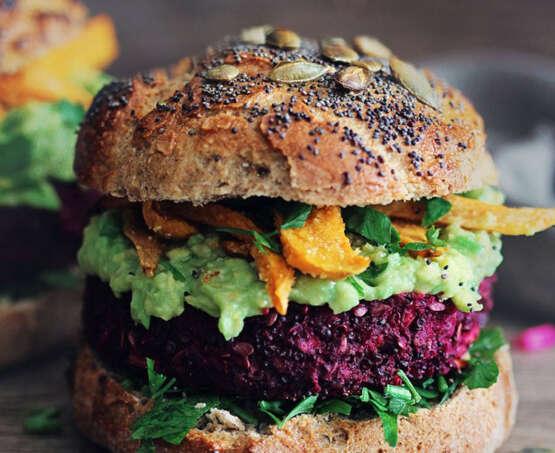 The Vegan Burger 🌈